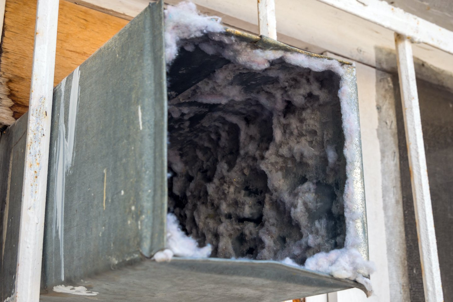Clogged Air Duct
